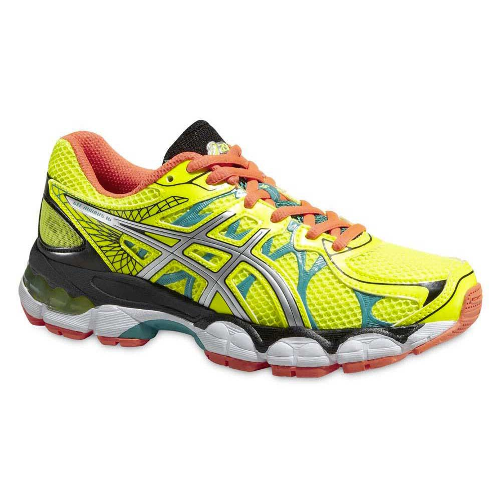asics nimbus 16 yellow