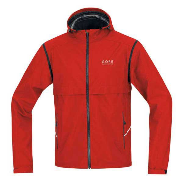 Gore running Jacket Essential As Zip off Windstopper