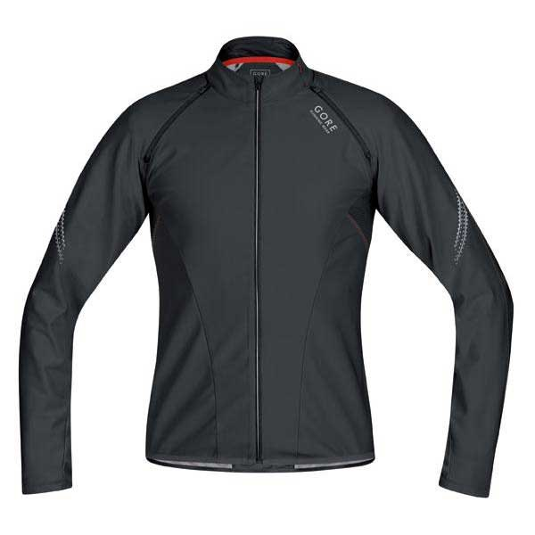 Gore running Shirt Magnitude Ss Zip off Windstopper