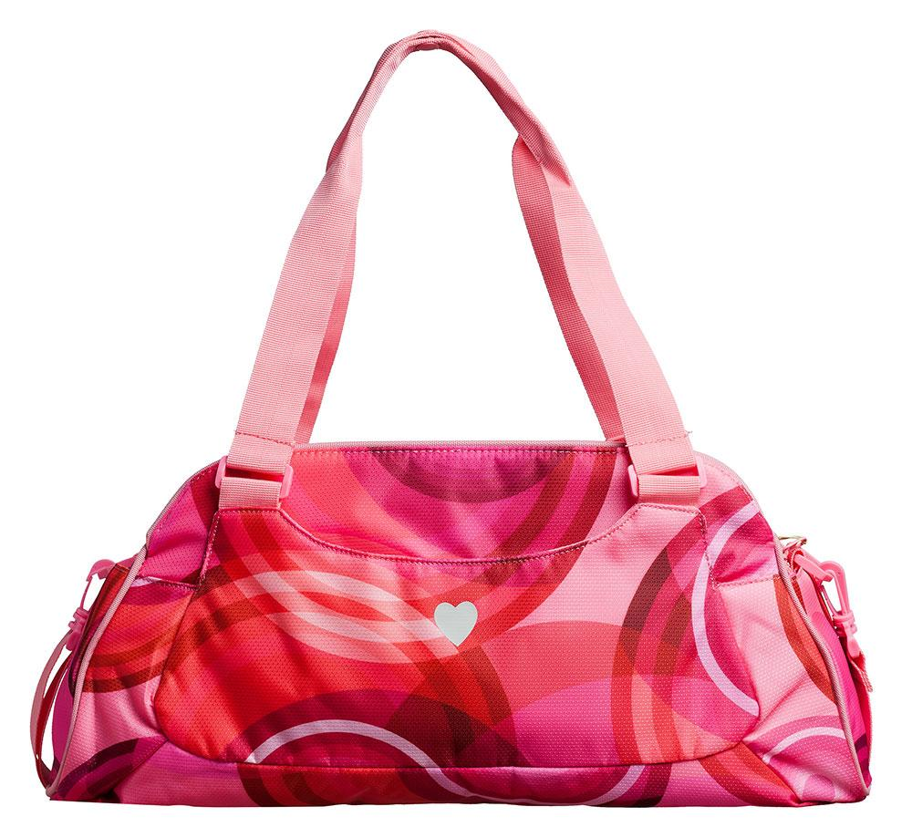 desigual big sport bag salmon rose runnerinn. Black Bedroom Furniture Sets. Home Design Ideas