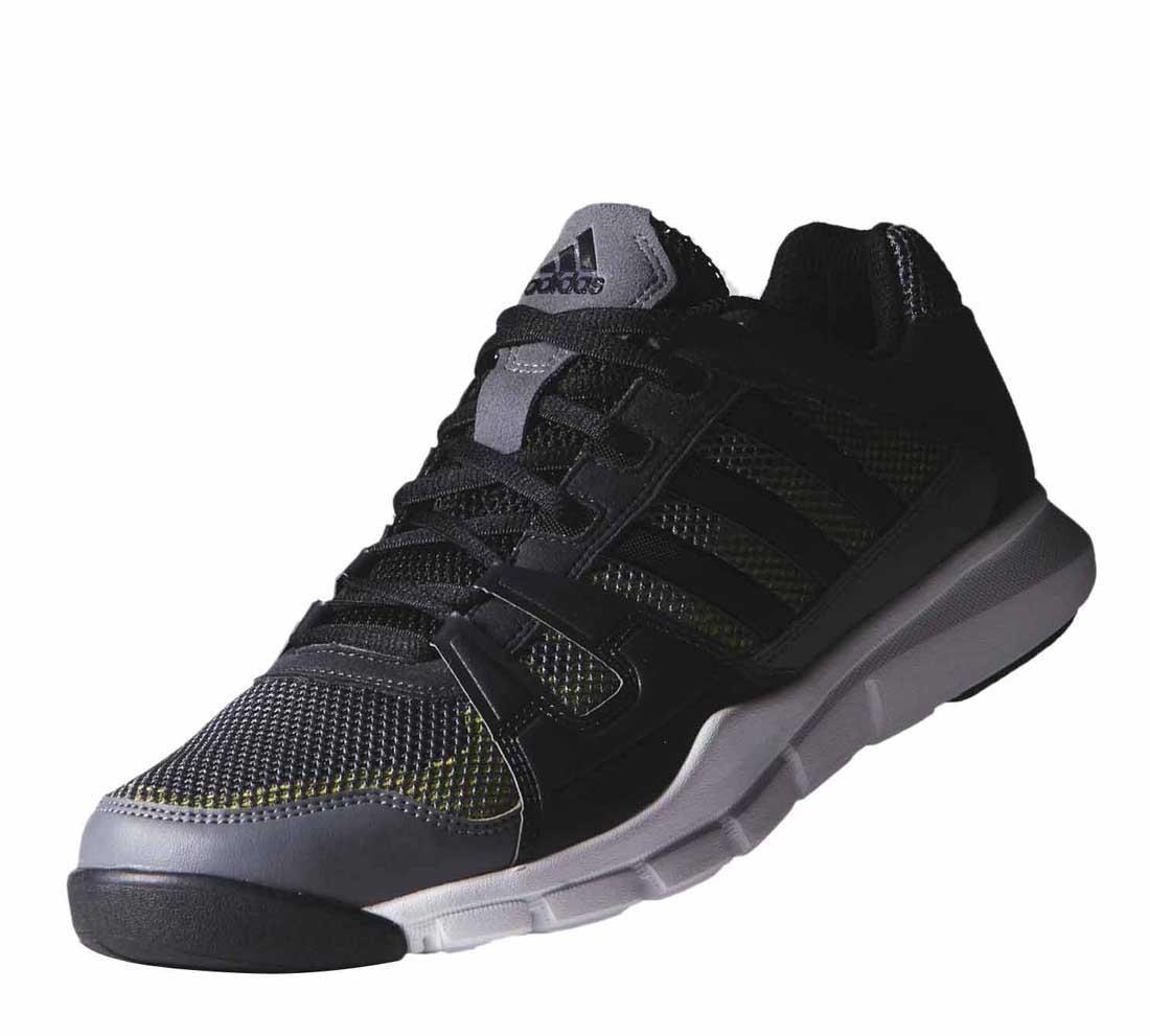 adidas sport guerrier vista noir / semi - solaire traininn jaune, gris - jaune, traininn 613abc