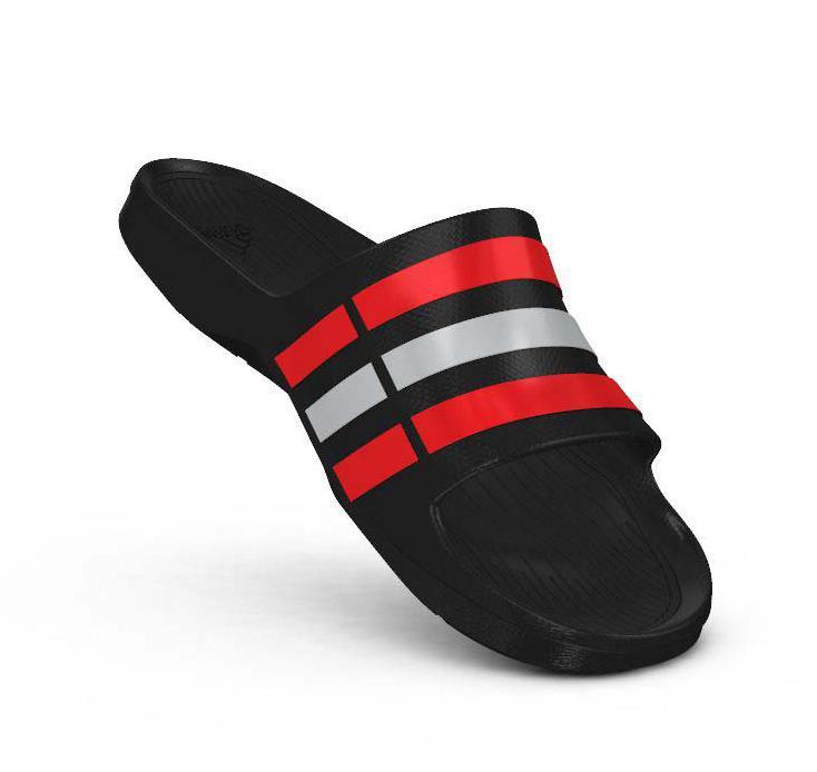 Adidas duramo slide nero / nucleo conosciuto comprare e offre a traininn