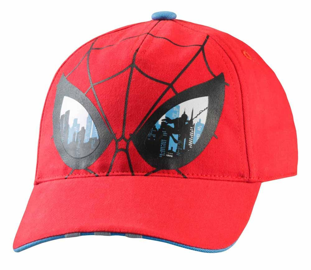 a571f9ac6f adidas Marvel Spiderman Cap Red   Lucky Met Kids