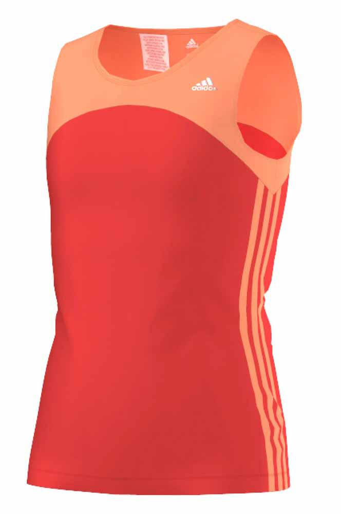 adidas Gear Up Tank Bright Red Flash Met Girl , Traininn