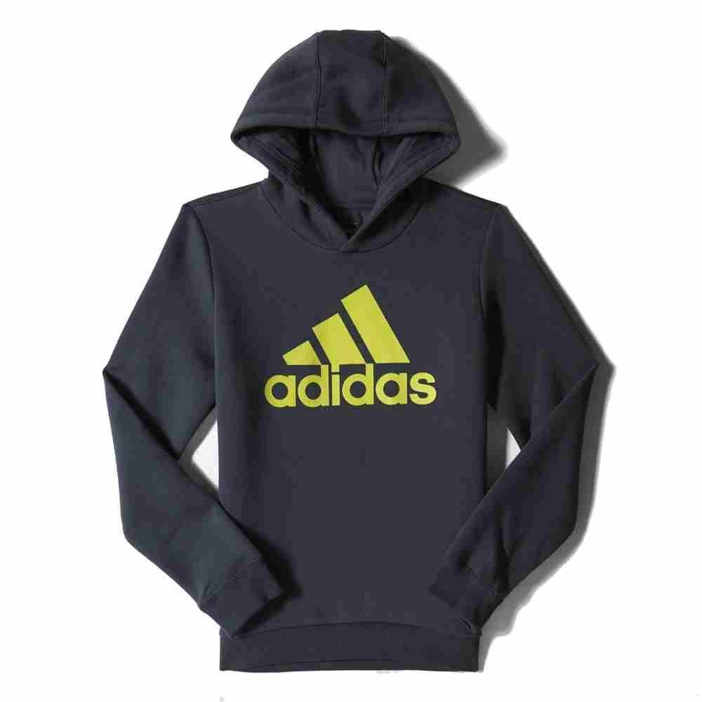 adidas Essentials Logo Hoodie Boy buy and offers on Traininn e9459d15a6d