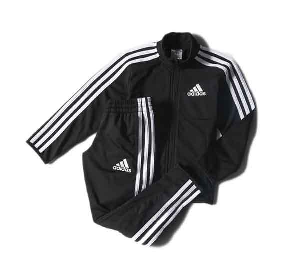 adidas black tracksuit boys