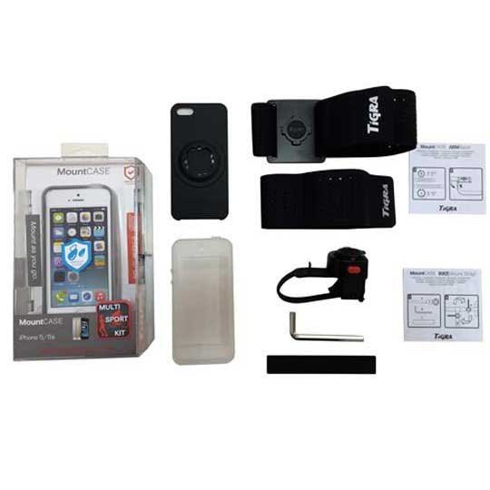 Ksix Multisport Kit Tigra Iphone 5 Cover + Bracelet + Bike Support