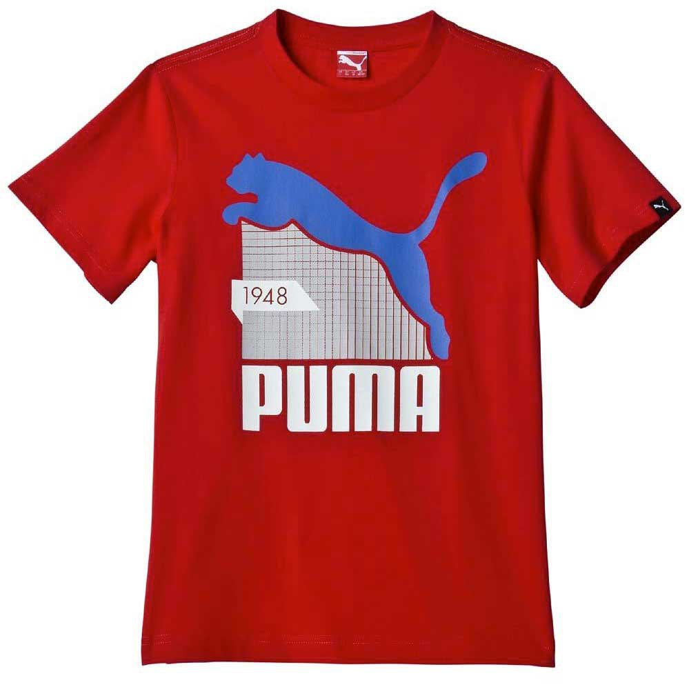 Puma Fun Td Graphic S/S Tee Junior