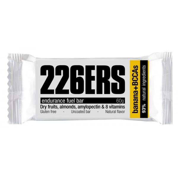 226ers Endurance Fuel Bar Banana + Bccas 60gr