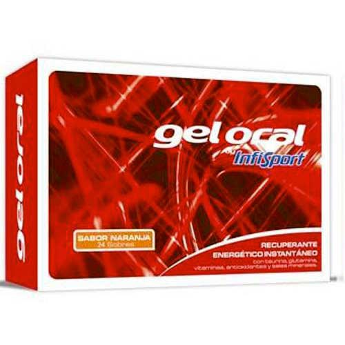 Infisport Gel Envelopes Orange 20gr x 24