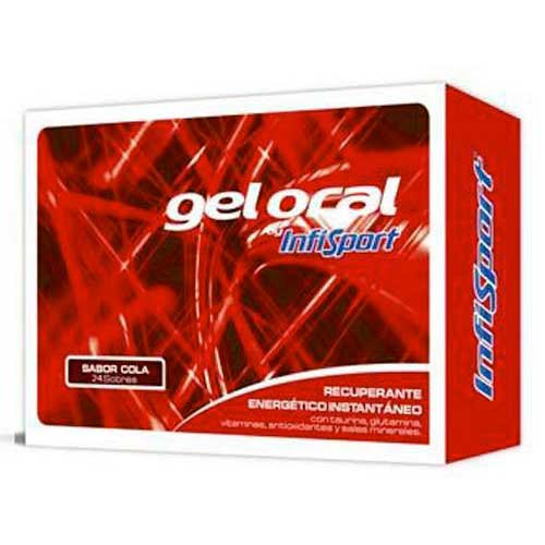 Infisport Gel Envelopes Cola 20gr x 24