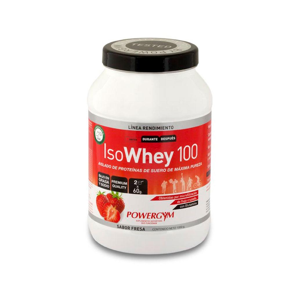 Powergym Isowhey 1 Kg Strawberry