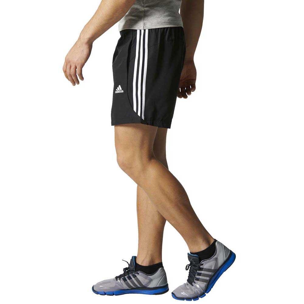 adidas essentials 3 stripes men's shorts chelsea