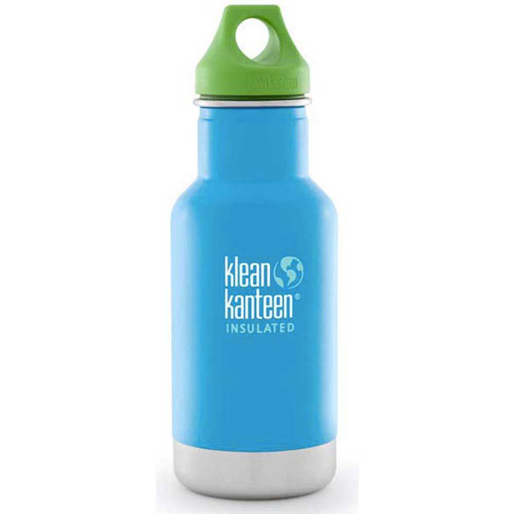 Klean kanteen 0.35 L Kid Vacuum Insulated With Green Loop Cap