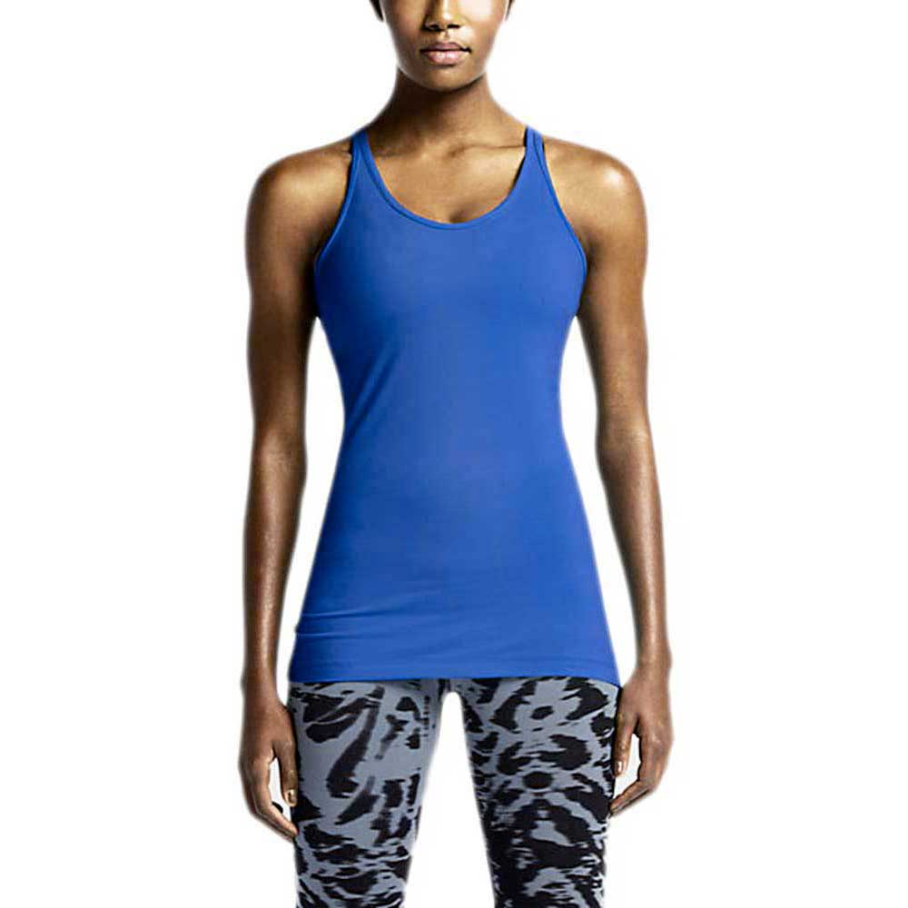 c121f82f037458 Nike Get Fit Tank Blue buy and offers on Traininn