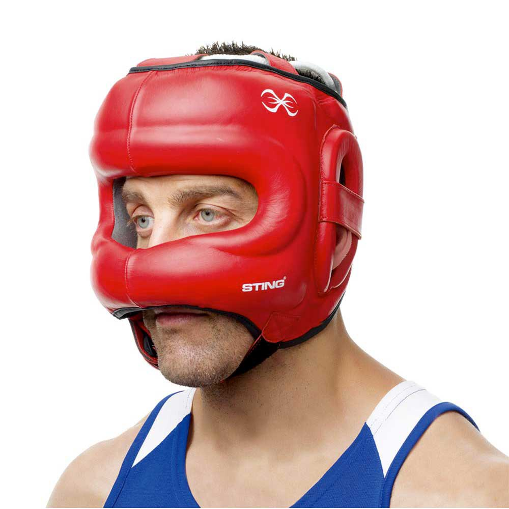 Sting Evolution Headguard With Nose Protection