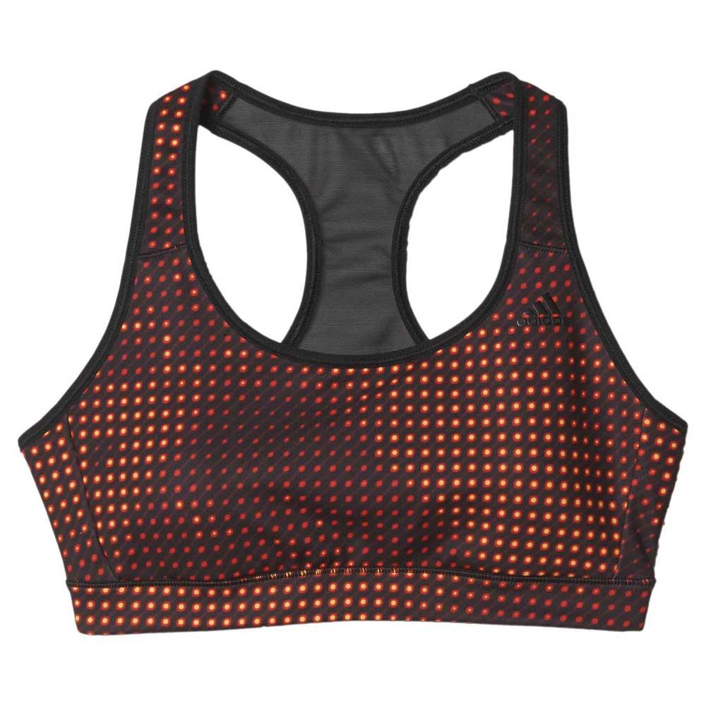 adidas Go To Gear Racer Back Bra A/b Cup 3 Stripes