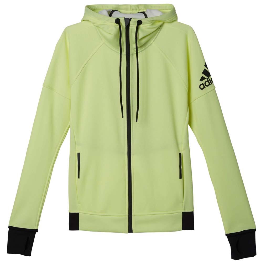 adidas hoodie yellow