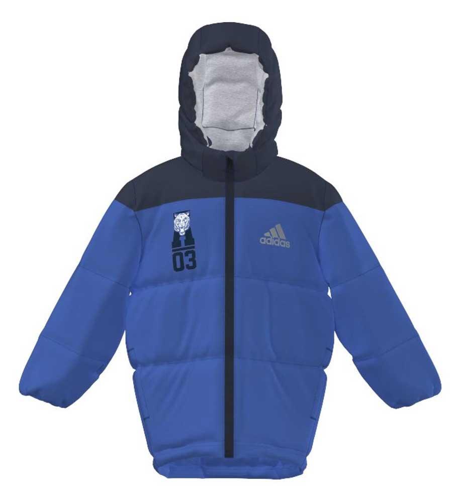 Adidas Padded Jacket Blue / Collegiate Navy Junior