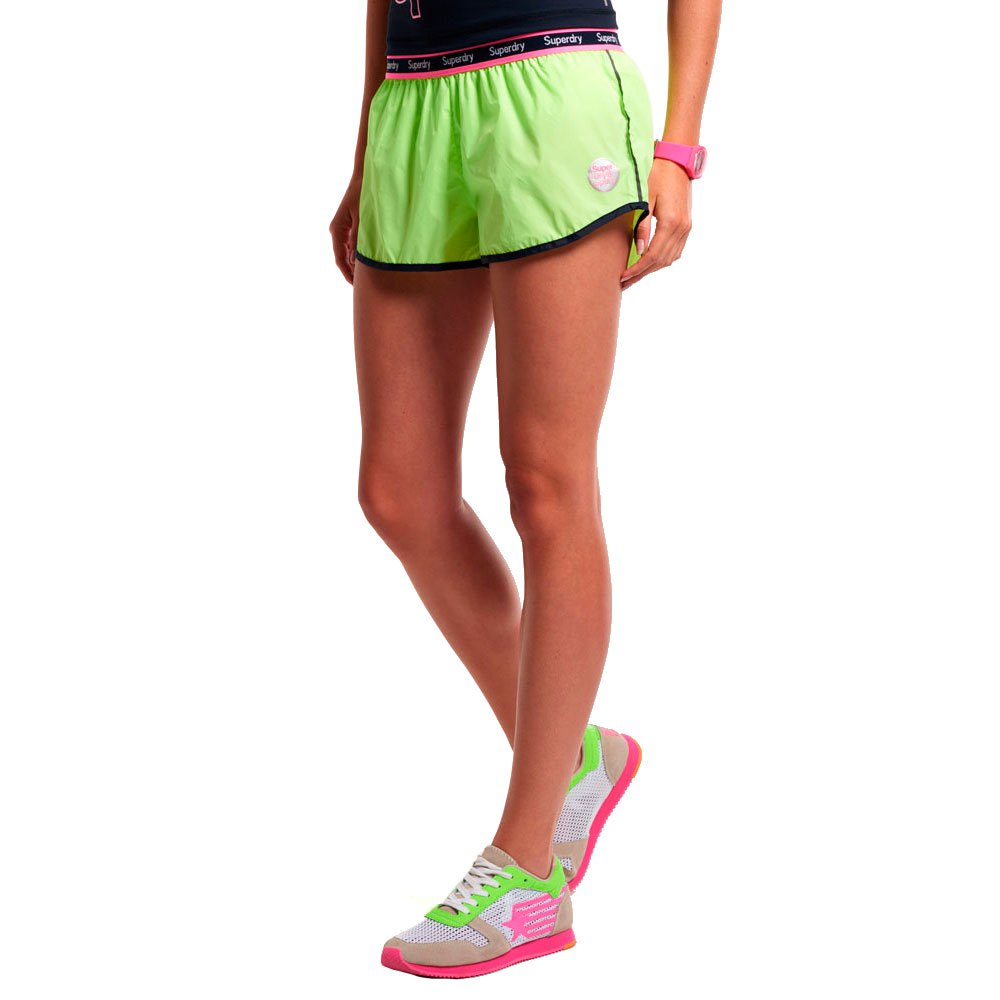 Superdry Gym Running Pantalones Cortos