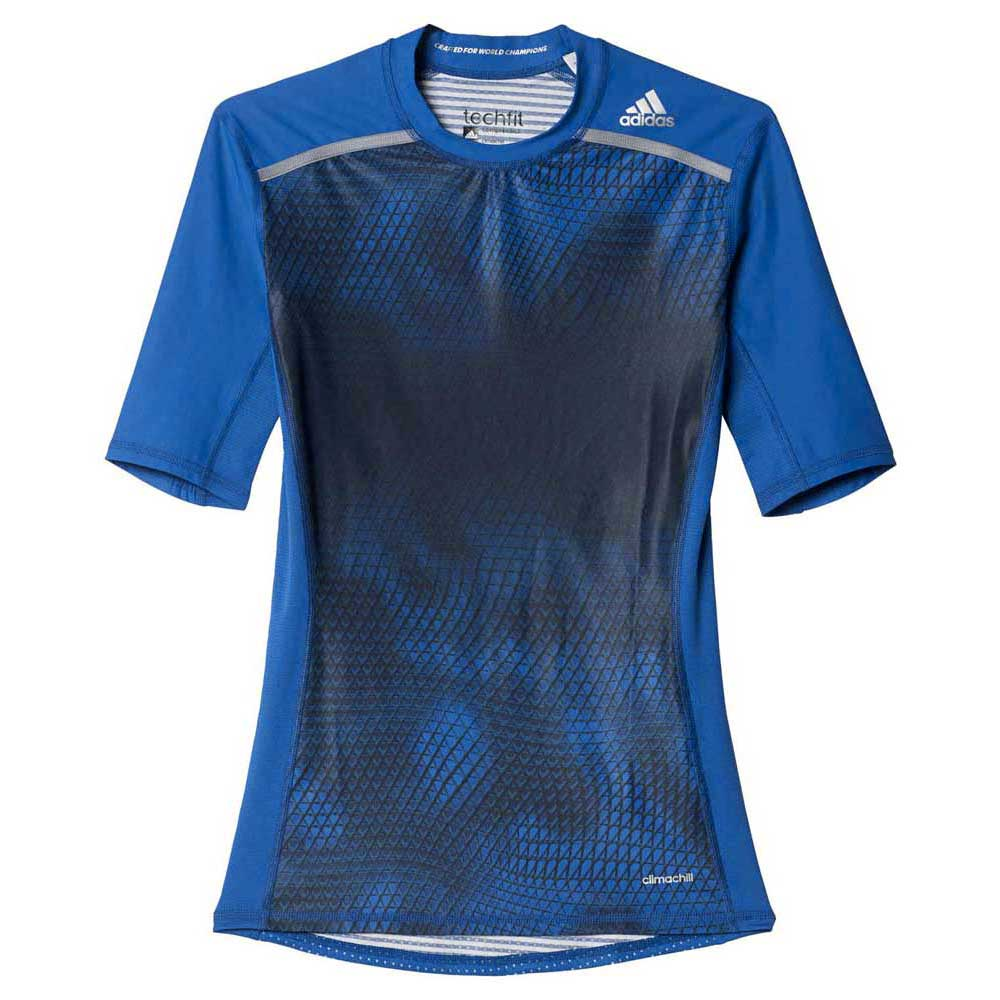 adidas Techfit Chill Graphic S/s