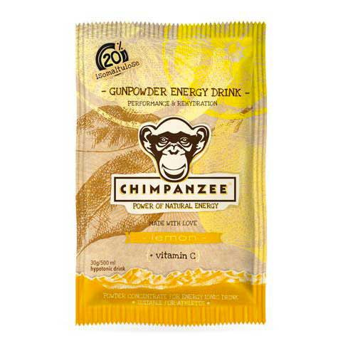 Chimpanzee Gunpowder Energy Drink EnvelopeLemon 30gr