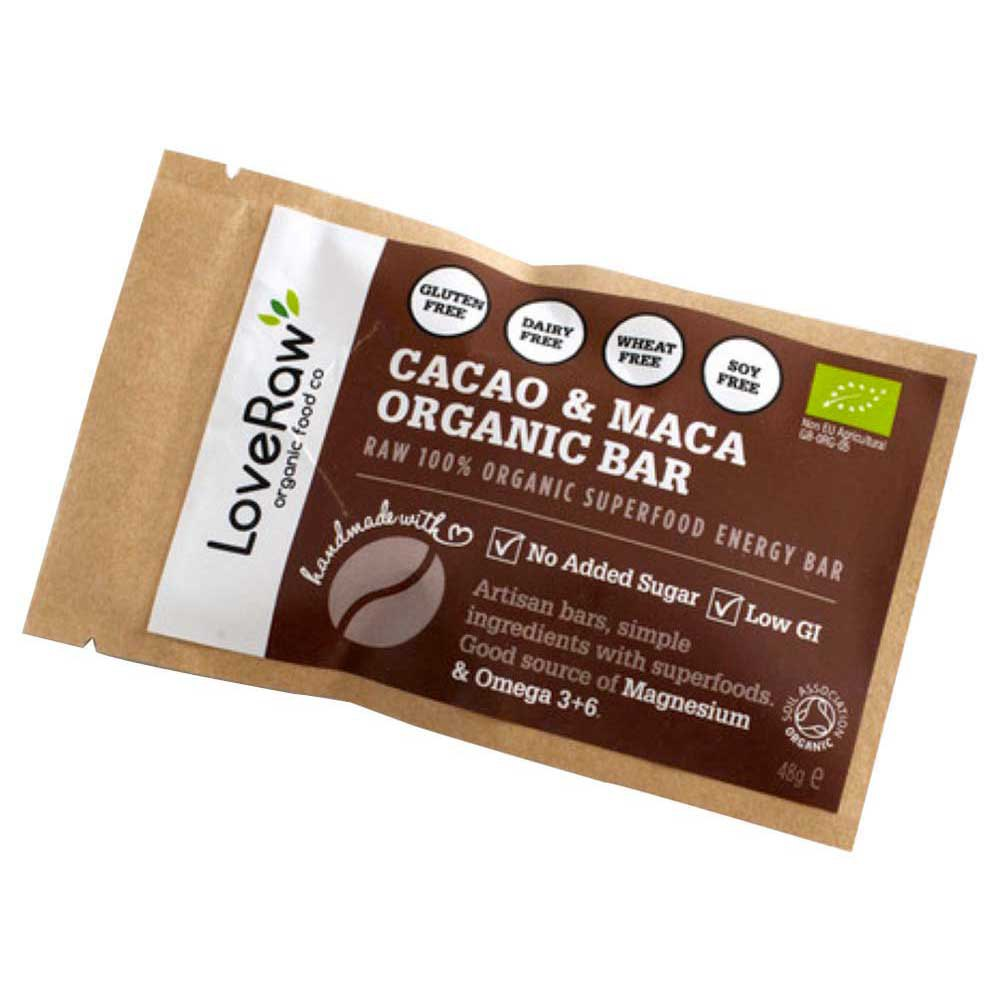 Loveraw Bar Cocoa And Maca 48gr x 12 Units