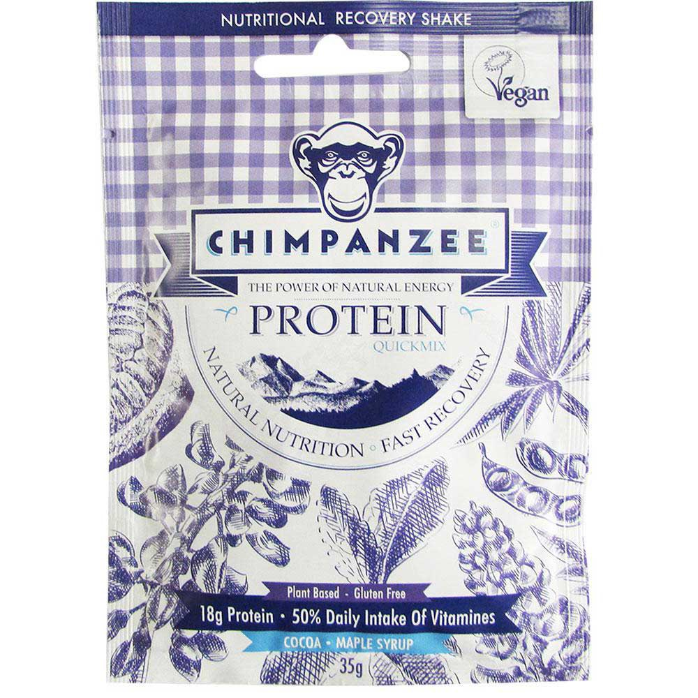 Chimpanzee Quick Mix Protein Cocoa / Maple Syrup 35 g