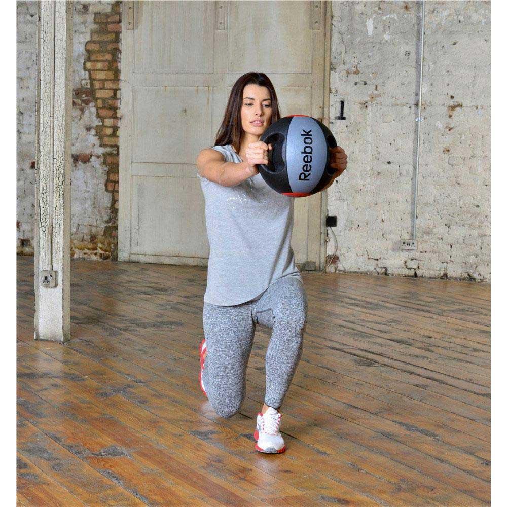 Reebok Double Grip Medicine Ball 10 Kg Traininn Gym 10kg