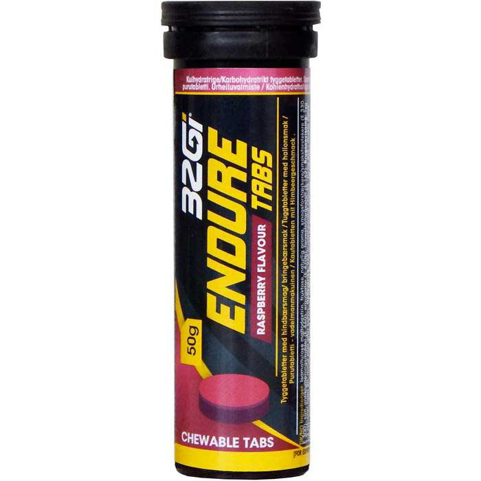 32gi Raspberry Endure Tabs 50 g
