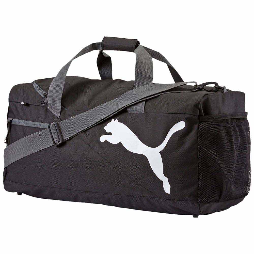 46711e72973 Puma Fundamental Sports Bag M White buy and offers on Traininn