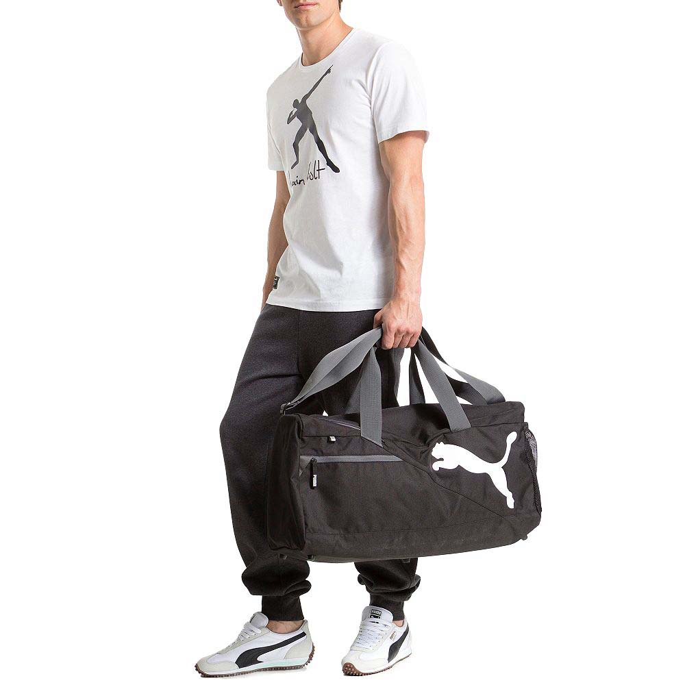 eb687e6ef2 Puma Fundamental Sports Bag M White buy and offers on Traininn