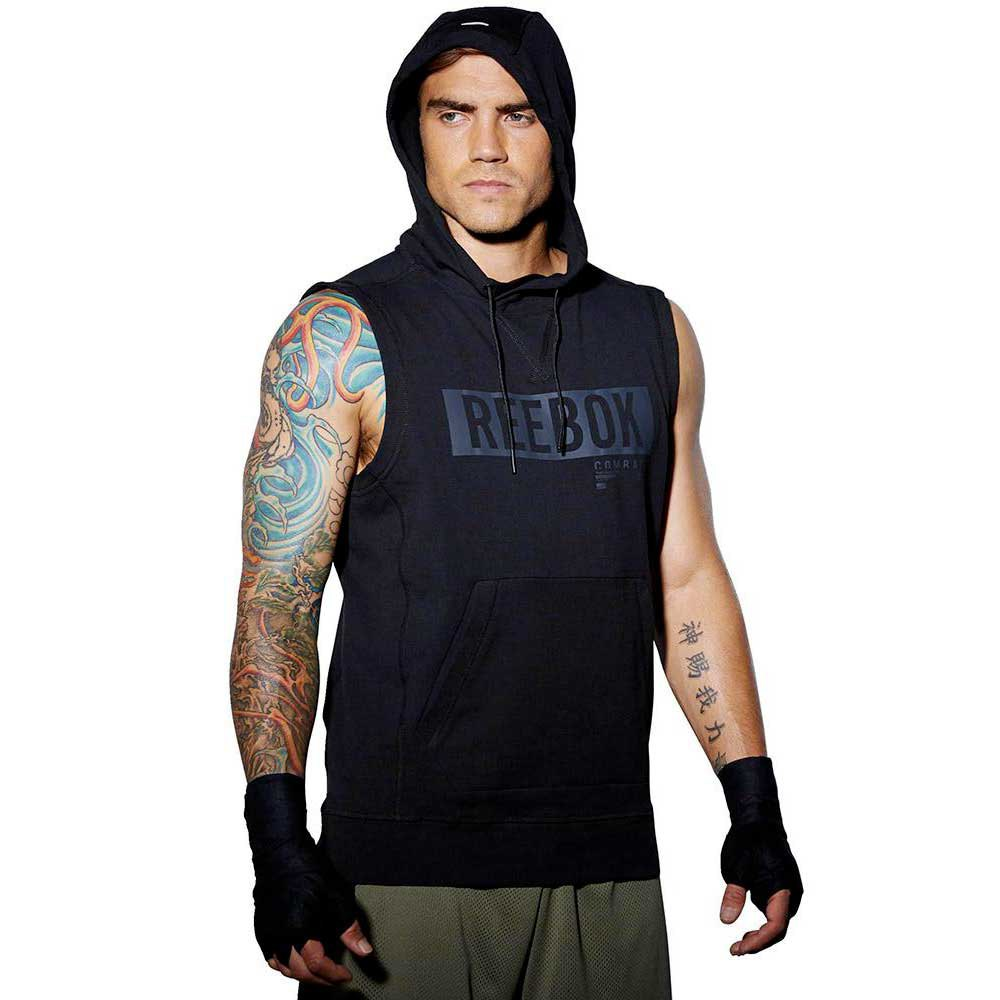 Reebok combat Train Like A Fighter Sleeveless Hoody