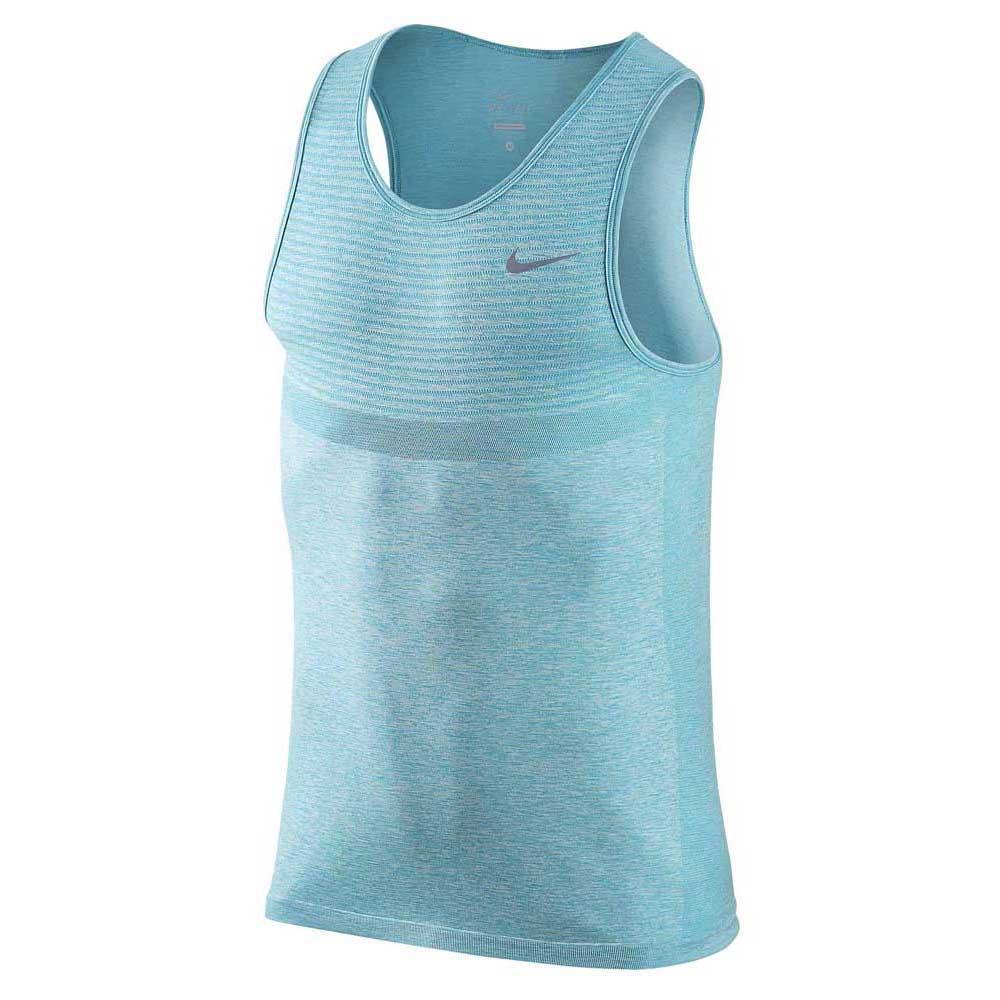 3bcee374 Nike Dri Fit Knit Голубой, Traininn