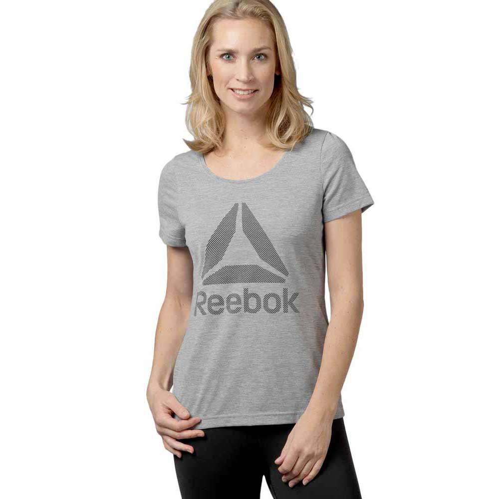Reebok Workout Ready Big Logo Supremium Tee Crew
