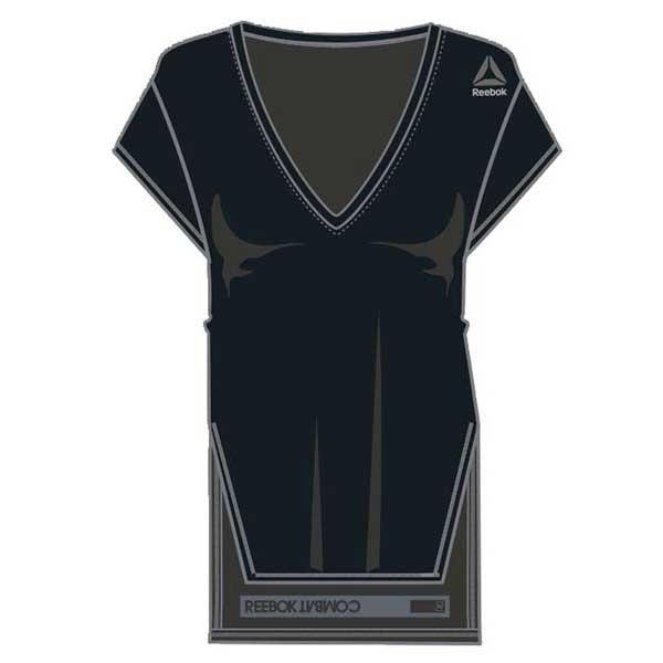 a0ee6742ba70 Reebok RNF Kickboxing V Neck W Black buy and offers on Traininn
