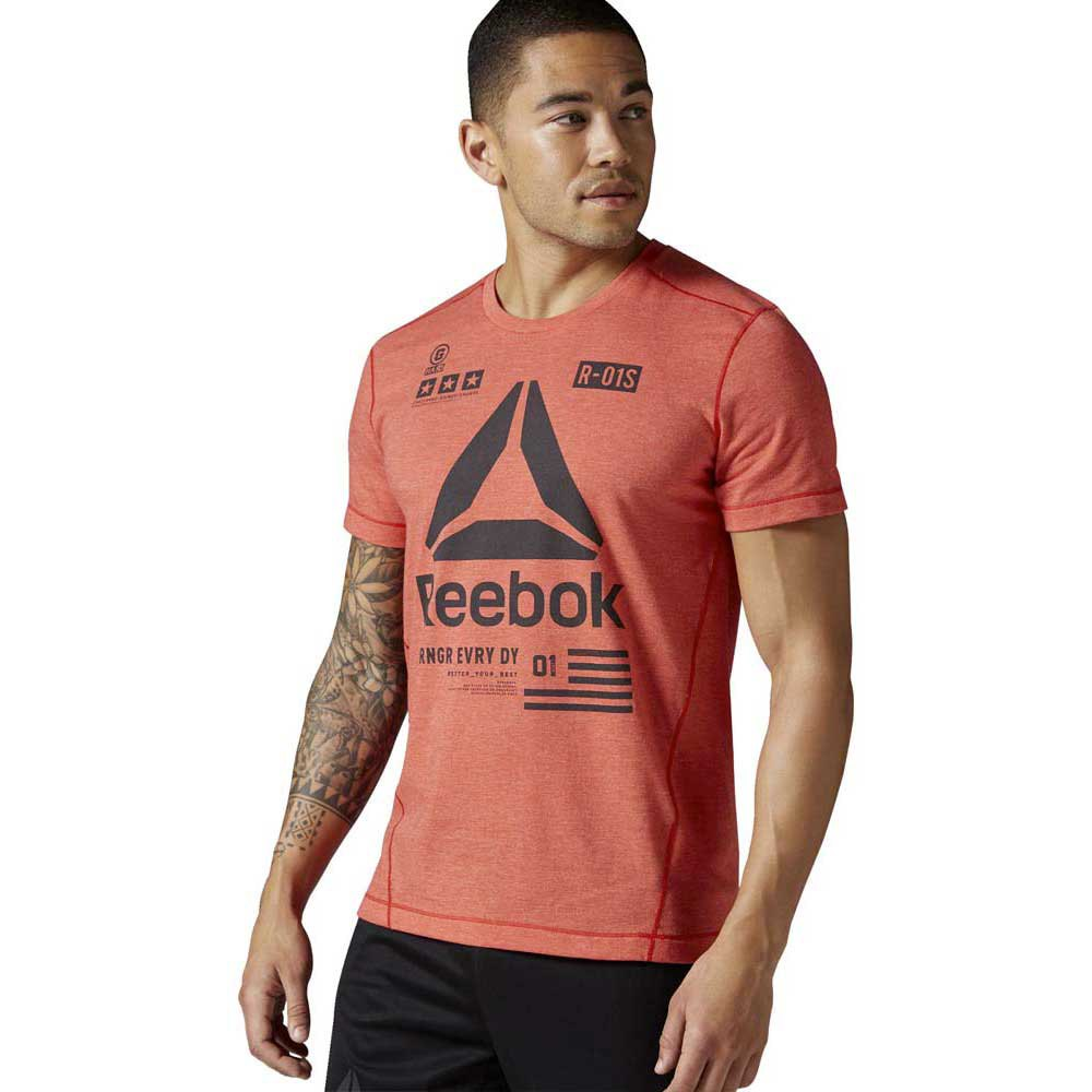 Reebok One Series Speedwick Performance Delta Tee