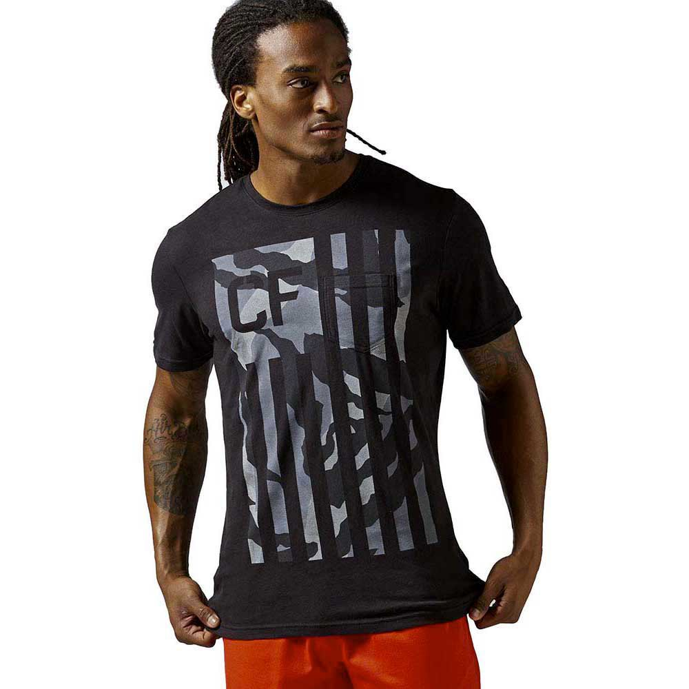 Reebok crossfit RCF Camo Flag Pocket Tee