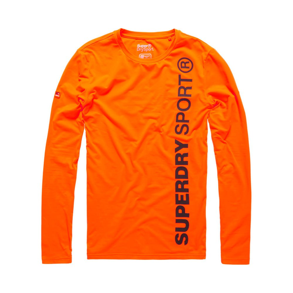 Superdry Gym Sport Runner Ls Top