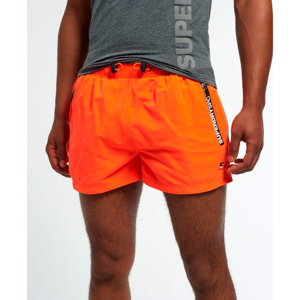 Superdry Gym Training Sport Korte Broeken