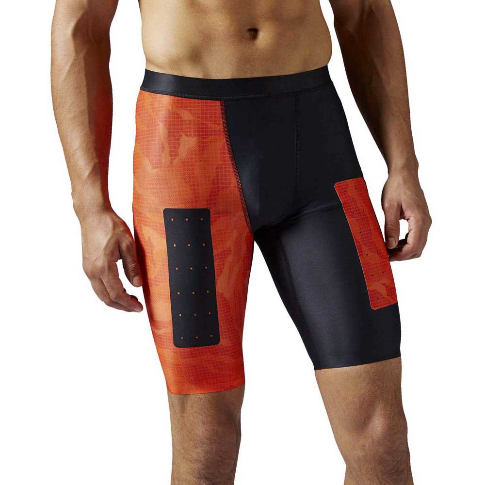 Reebok Rcf Compression Short All Over Print