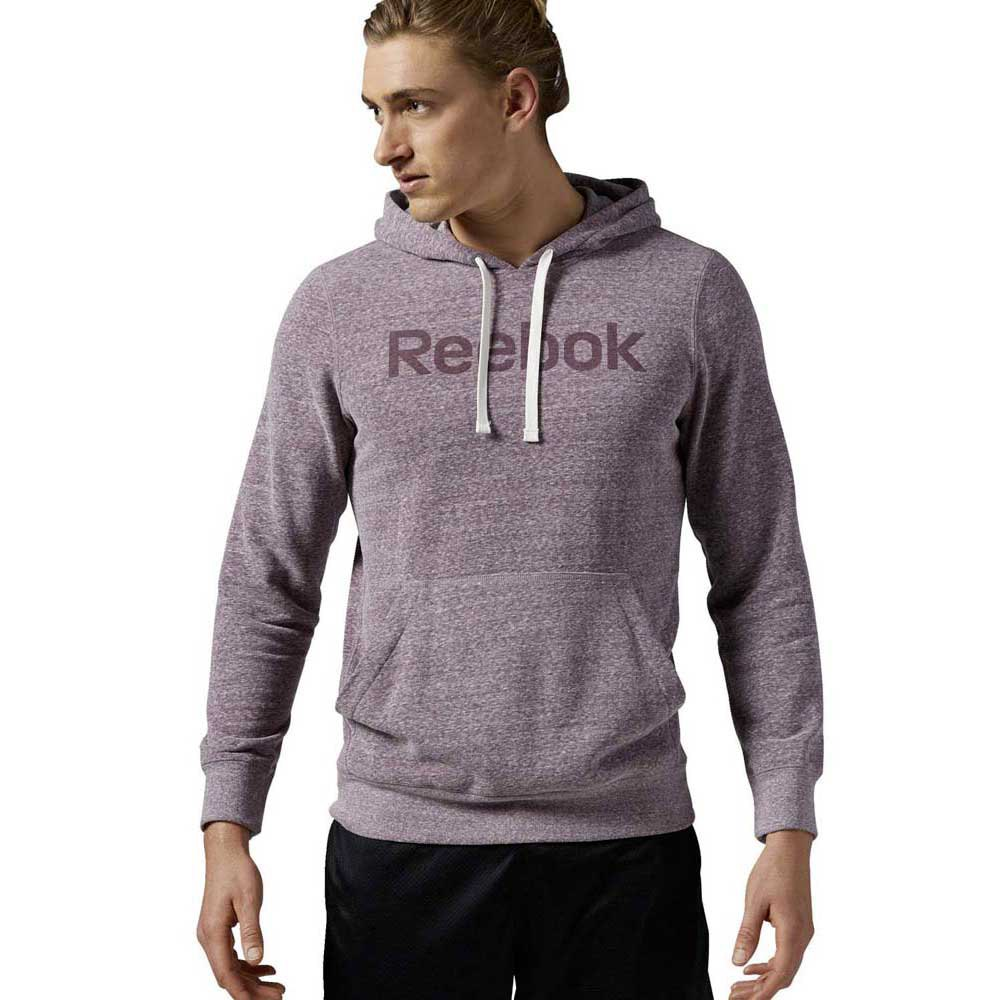 Reebok Elements Logo French Tery Pullover Hoodie