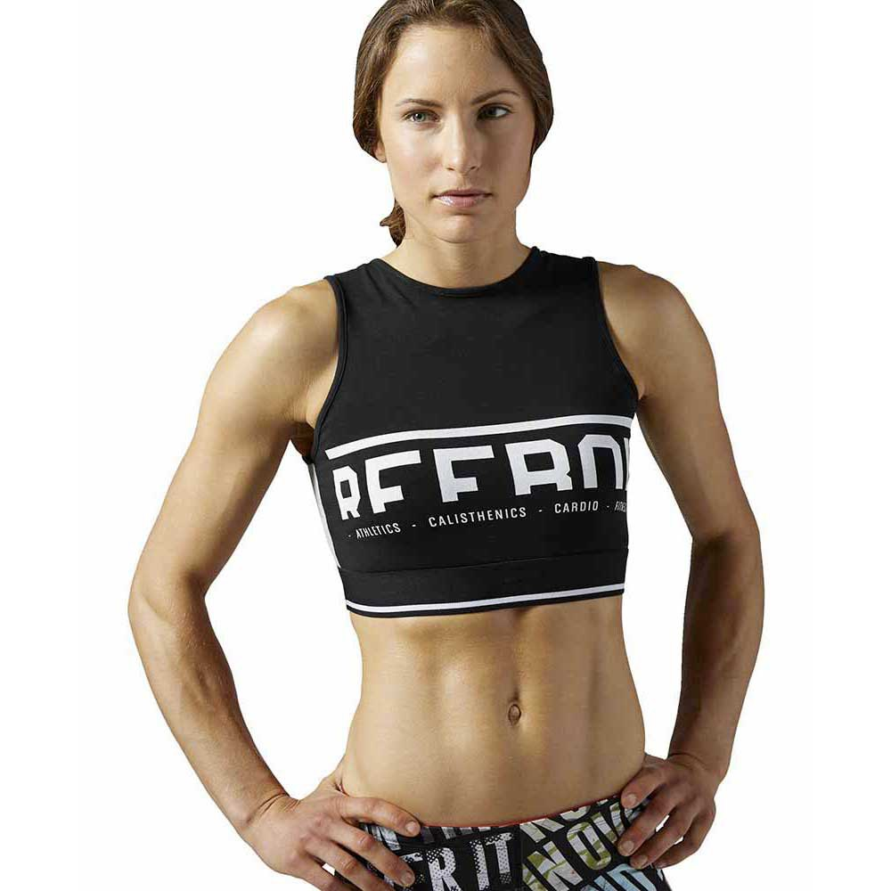 Reebok Workout Ready Cotton Series Crop Tank