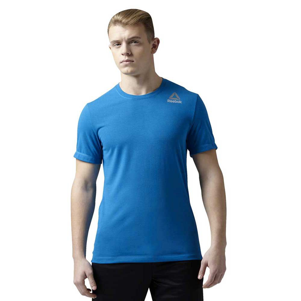 Reebok Workout Ready Stacked Logo Supremium Tee