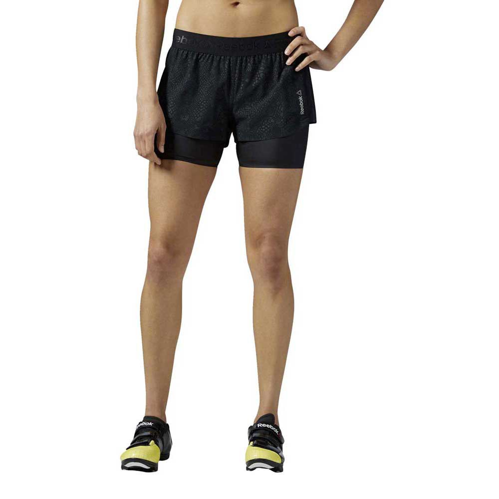 Reebok Les Mills Padded 2In1 Short