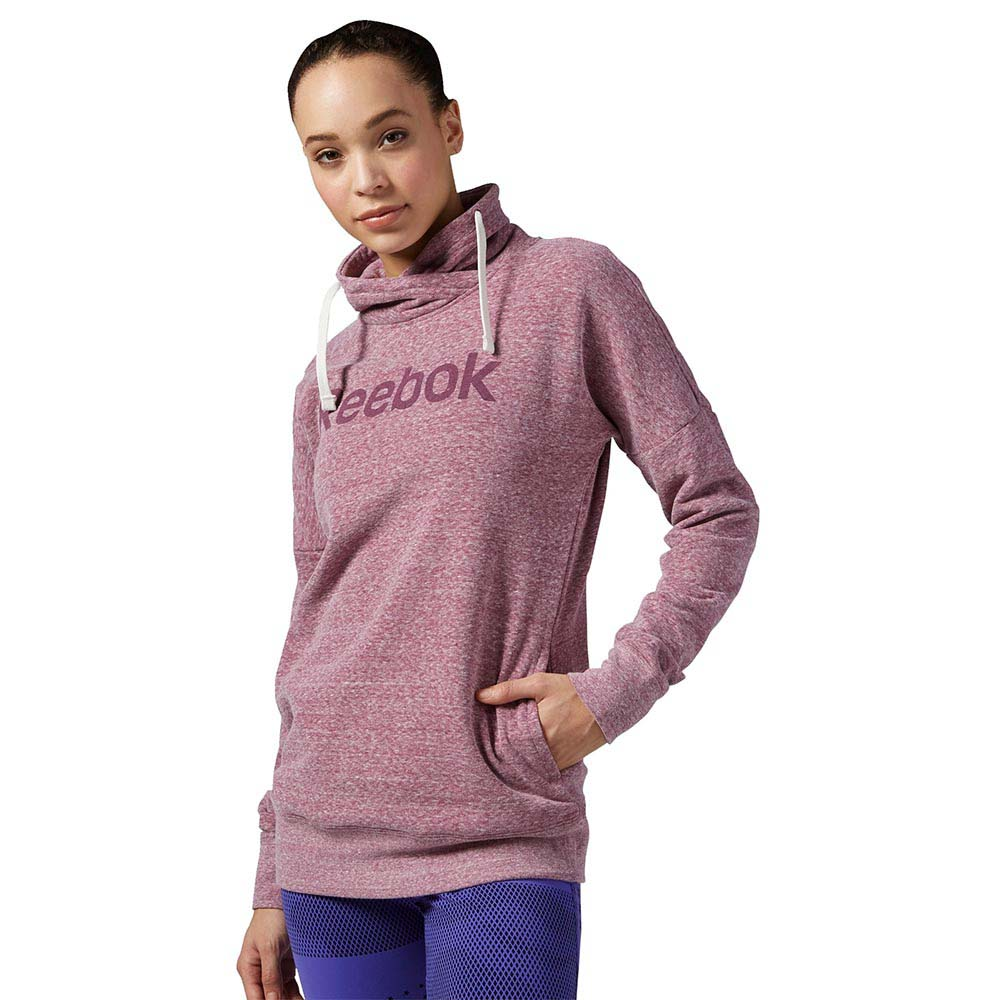 Reebok Elements Logo Cowl Neck Sweatshirt