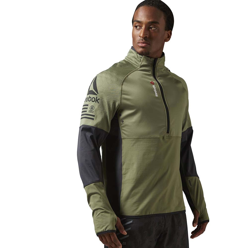 Reebok One Series Hexawarm Thermal Speedwick 1/4 Zip