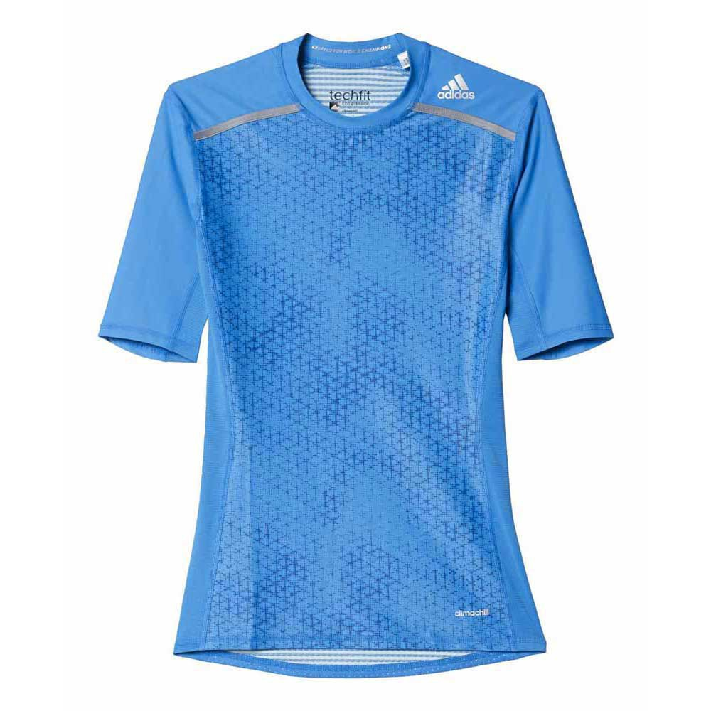 adidas Techfit Chill Graphic Ss