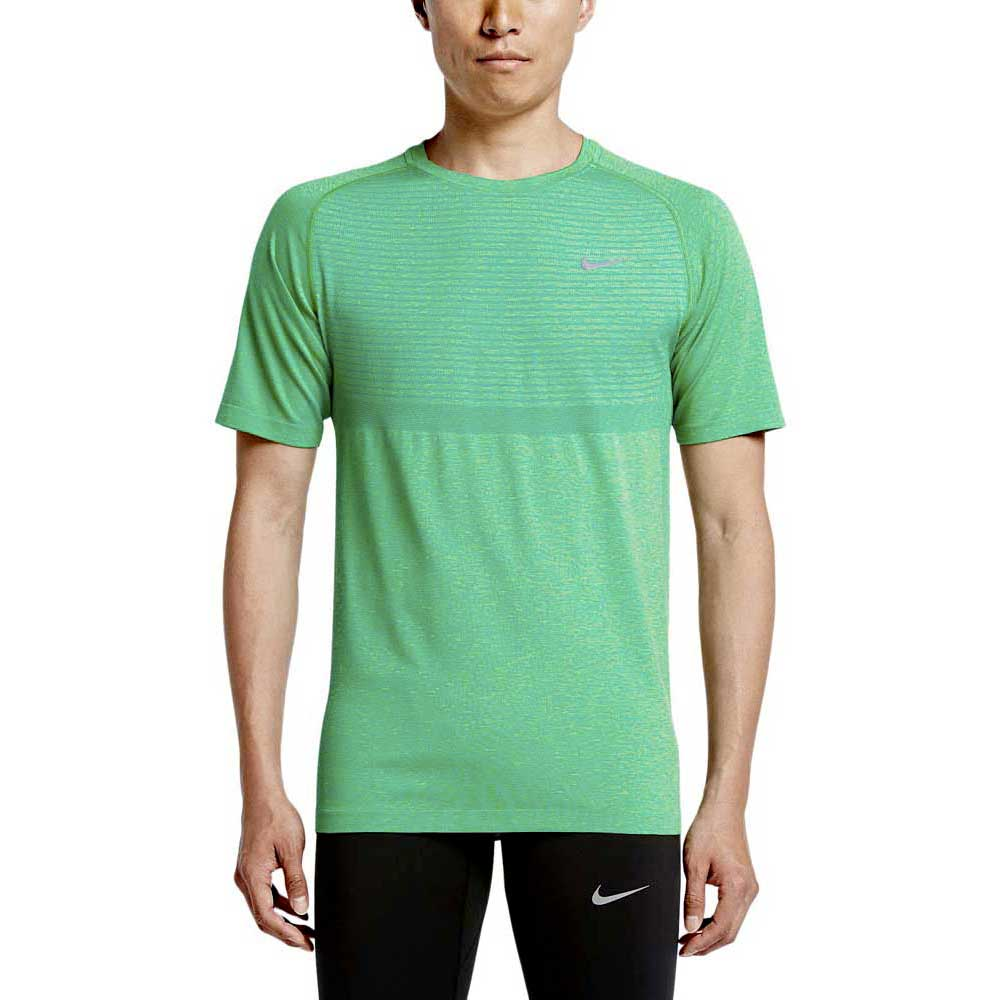 Nike Dri Fit Knit SS Зеленый, Traininn