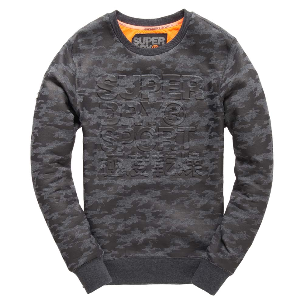 Superdry Gym Tech Embossed Crew